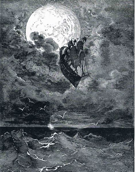 the moon a voyage to the moon c 1868 gustave dore wikiart org