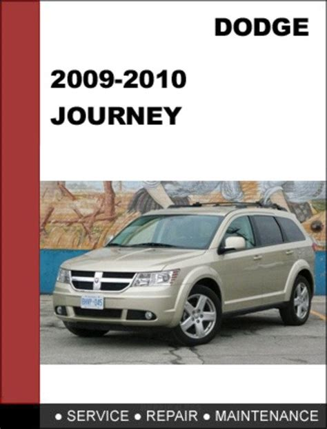 dodge journey 2009 2010 factory service repair manual download do