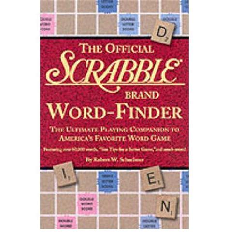 scrabble qis the official scrabble brand word finder robert w