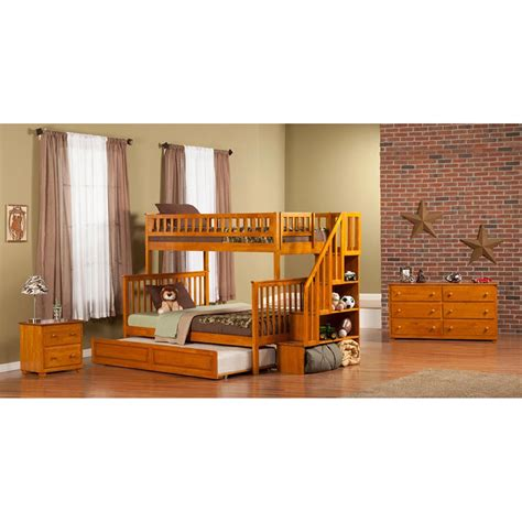 woodland bunk beds woodland bunk bed staircase raised panel