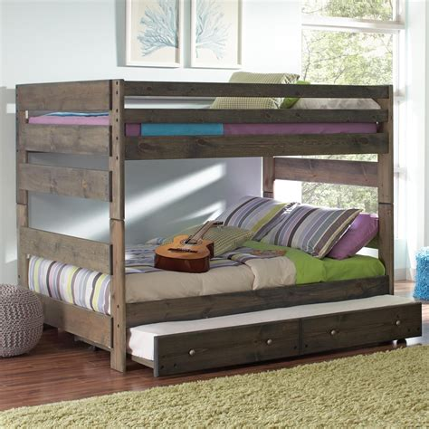 coaster bunk bed coaster 400833 836 wrangle hill youth size bunk bed