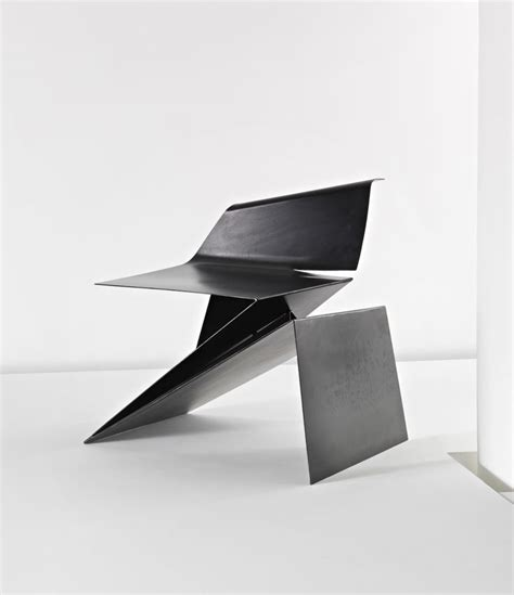 furniture origami prototype origami chair by philip michael wolfson