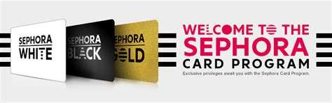 card program sephora loyalty program sephora card