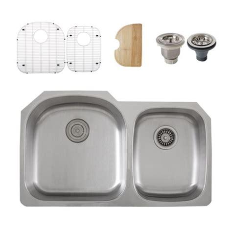 kitchen sink accessory ticor s105 8 undermount stainless steel bowl
