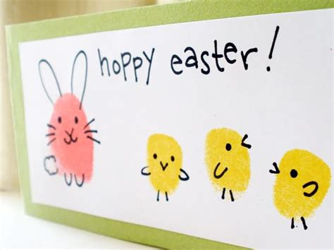 easter cards to make for children simple card ideas for