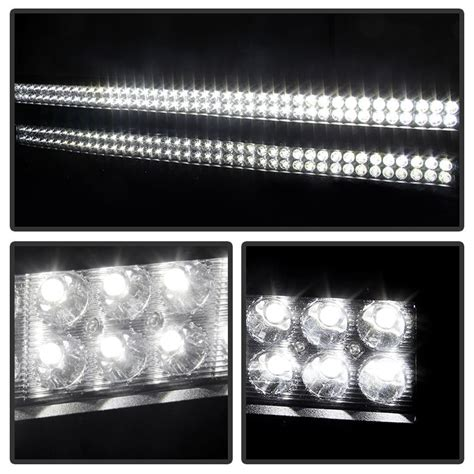 38 led light bar 38 quot 252w aluminum led light bar spot beam for offroad