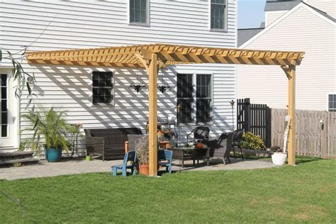 how to build a pergola attached to house beautiful attached pergola connected to a house in