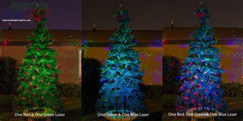 laser light tree sparkle magic lights