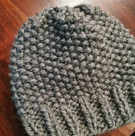 seed stitch knitting seed stitch beanie knitting
