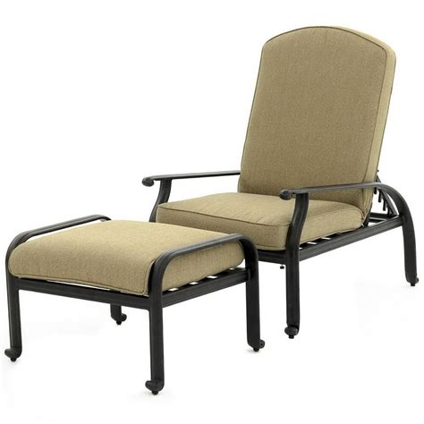 reclining patio chairs with ottoman home design ideas