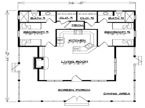 guest cabin floor plans guest house floor plan guest cottage house plans