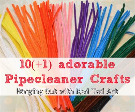 craft ideas 2013 pipecleaner craft ideas ted s