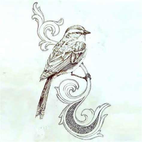 Home Design 3d Home cool songbird tattoo design