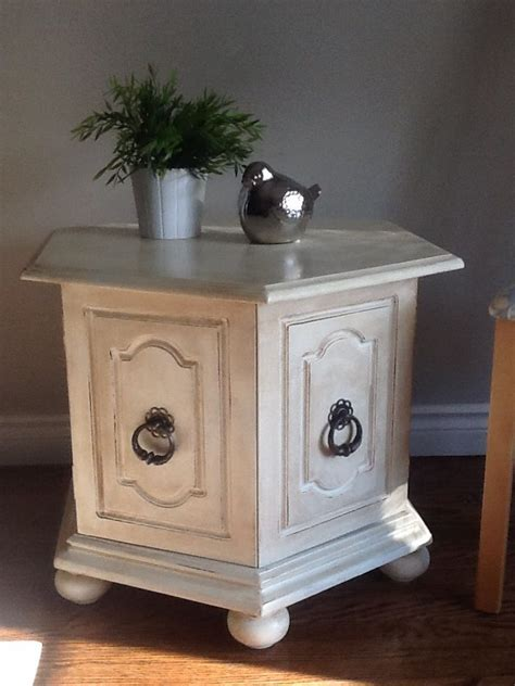 chalk paint end tables end table painted with diy chalk paint projects