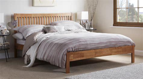 hardwood bed frames edenbridge hevea hardwood bed frame sensation sleep beds