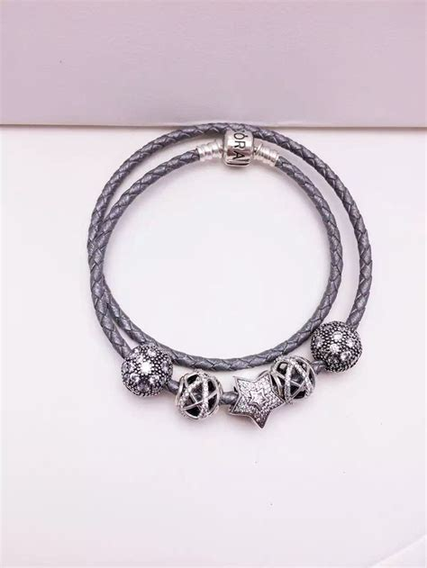 pandora bead bracelets 25 best ideas about pandora leather bracelet on