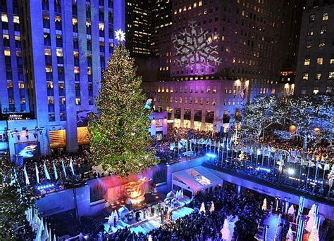 time square tree lighting 2014 the 10 most amazing trees in the u s
