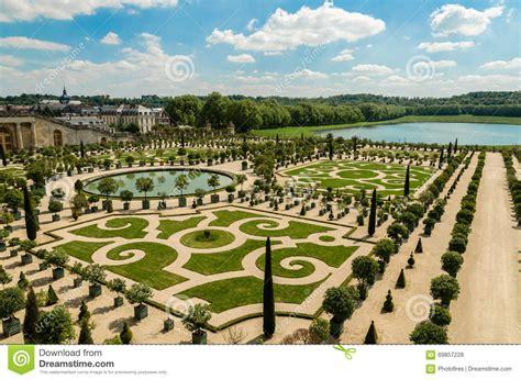 Der Garten Versailles by Garten Versailles Palast Frankreich Stockfoto