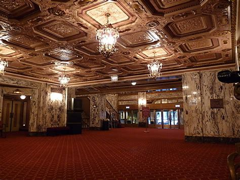 Cadillac 5 Theater by Cadillac Palace Theatre In Chicago Il Cinema Treasures