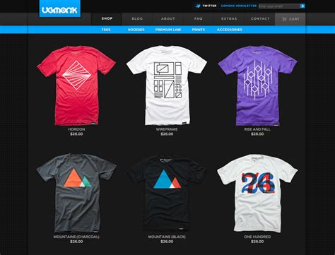 how to design the best website for a clothing line