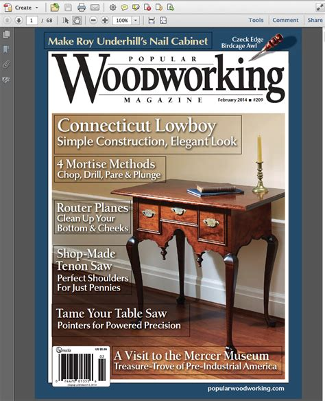 popular woodworking subscription february digital issue read it free popular