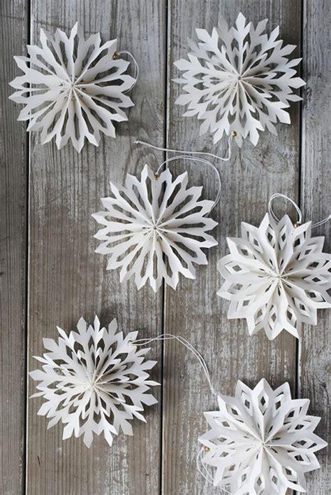 snowflake paper crafts diy snowflake stelle