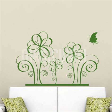 flower stickers for walls wall decals canada wall stickers floral flowers