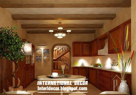 ceiling designs for kitchens rustic kitchen ceiling false design for classic kitchens