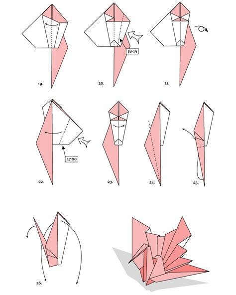 origami turkey diagrams origami swan www pixshark images