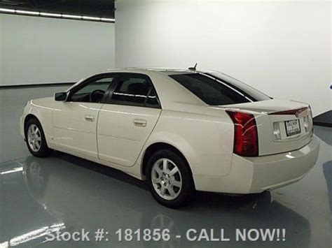 2007 Cadillac Cts 3 6 by Find Used 2007 Cadillac Cts 3 6 Auto Htd Leather Sunroof