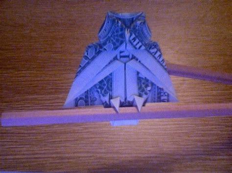dollar owl origami owl by montroll 1 folded in 2007 dollar bill