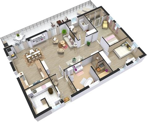 3d home floor plan design android apps on home plans 3d roomsketcher