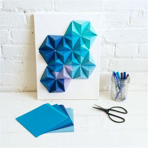make origami decorations best 25 origami wall ideas on