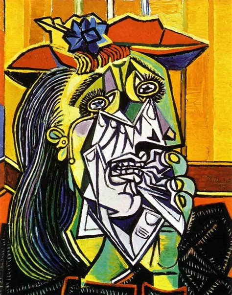 picasso paintings the weeping picasso weeping escape into