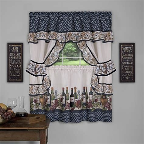 grape kitchen curtains cheap price on the wine and grape kitchen curtains