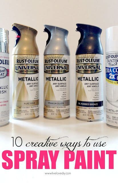 spray paint brands 10 creative ways to use spray paint great ideas for ways