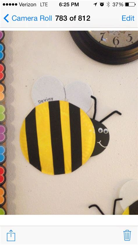 Paper Plate Bumble Bee For Our Preschool Bug And Garden