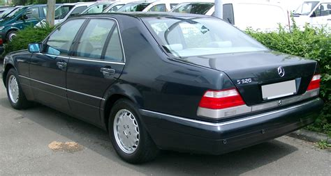 Mercedes W140 by File Mercedes W140 Rear 20070609 Jpg