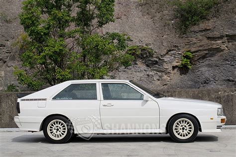 Audi Turbo by Audi Ur Quattro Turbo Coupe Auctions Lot 8 Shannons