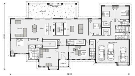 5 bedroom floor plans australia floor plan friday 5 bedroom acreage style home with