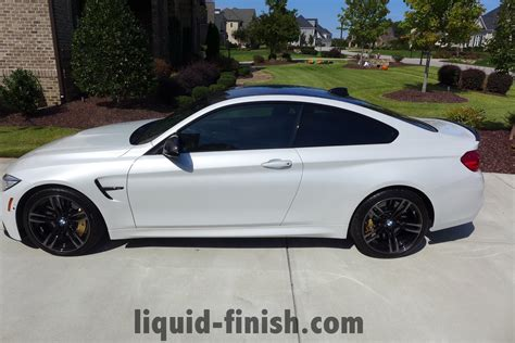 Mineral White Bmw by Bmw M4 Mineral White Performance Kit Renewal Detail
