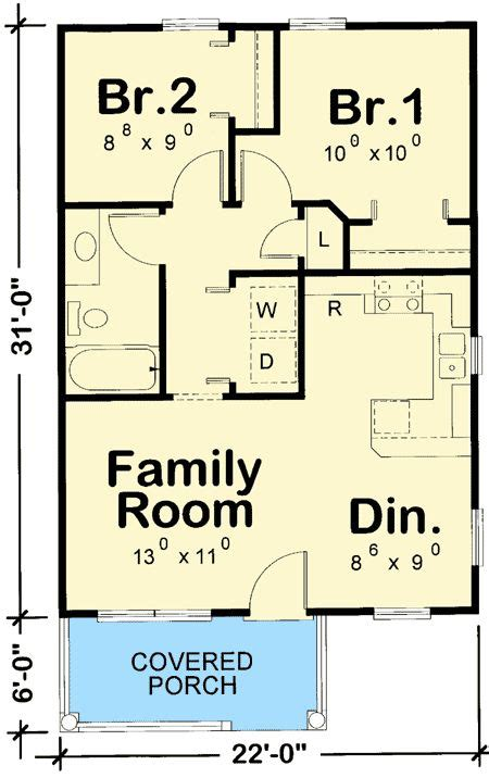 2 bedroom cottage house plans best 20 tiny house plans ideas on