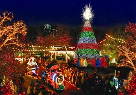 silver dollar city lights celebrate an time at silver dollar city