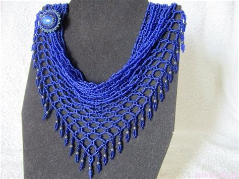 beaded scarfs how to make a beaded net scarf necklace and inspirations