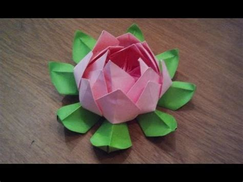 how to make origami lotus flower how to make an origami lotus flower