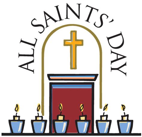 st s day all saints day clip clipart best