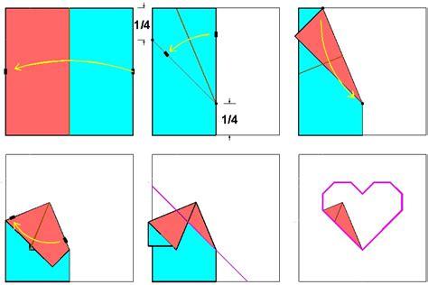 origami process 3 folding process