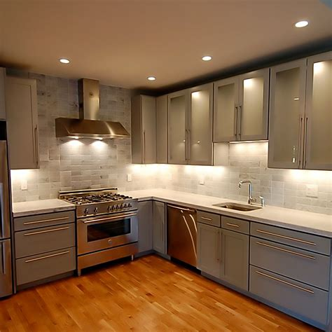 3 basic types of cabinet lighting and their special