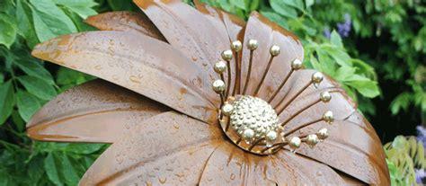 metal garden flowers sculpture garden flower ornaments sculptures black country metal