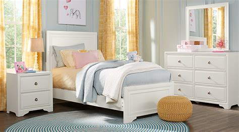 bedroom furniture for teenagers belcourt jr white 5 pc panel bedroom bedroom